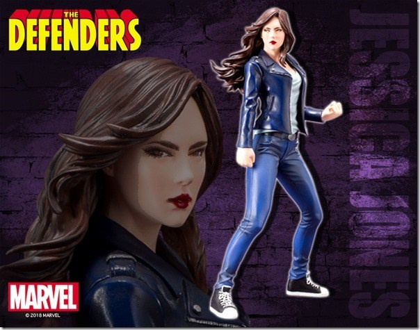 KOTOBUKIYA 1/10 PVC Figure ARTFX+ Jessica Jones The Defenders