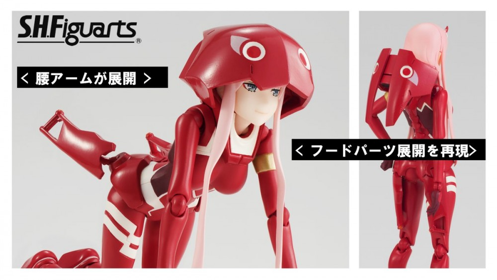 S.H.Figuarts Zero Two Anime DARLING in the FRANXX