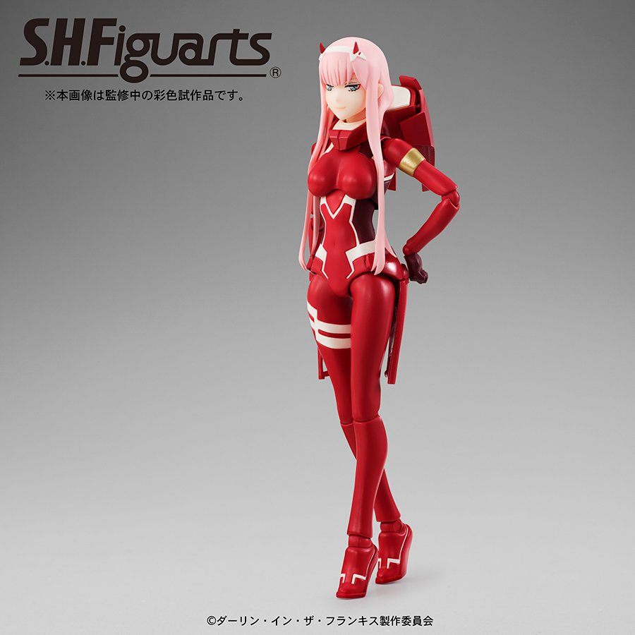S.H.Figuarts Zero Two DARLING in the FRANXX