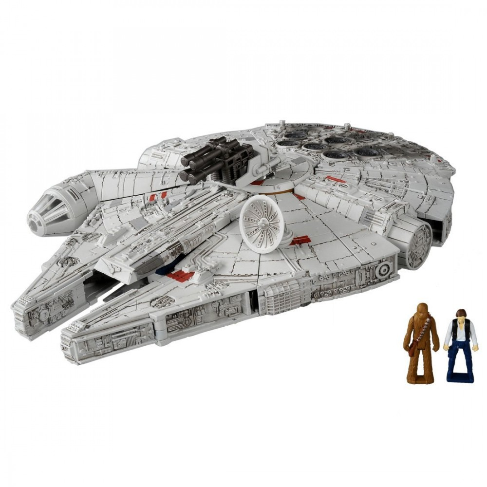 STAR WARS Feat TRANSFORMERS 02 Millennium Falcon