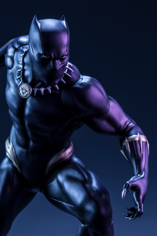 ARTFX+ Series Black Panther Marvel Comic Statue