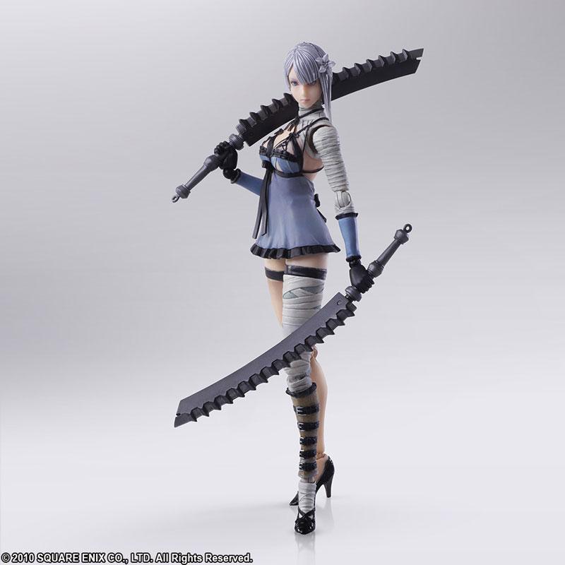 Square Enix Bring Arts NieR RepliCant/NieR Gestalt Kaine