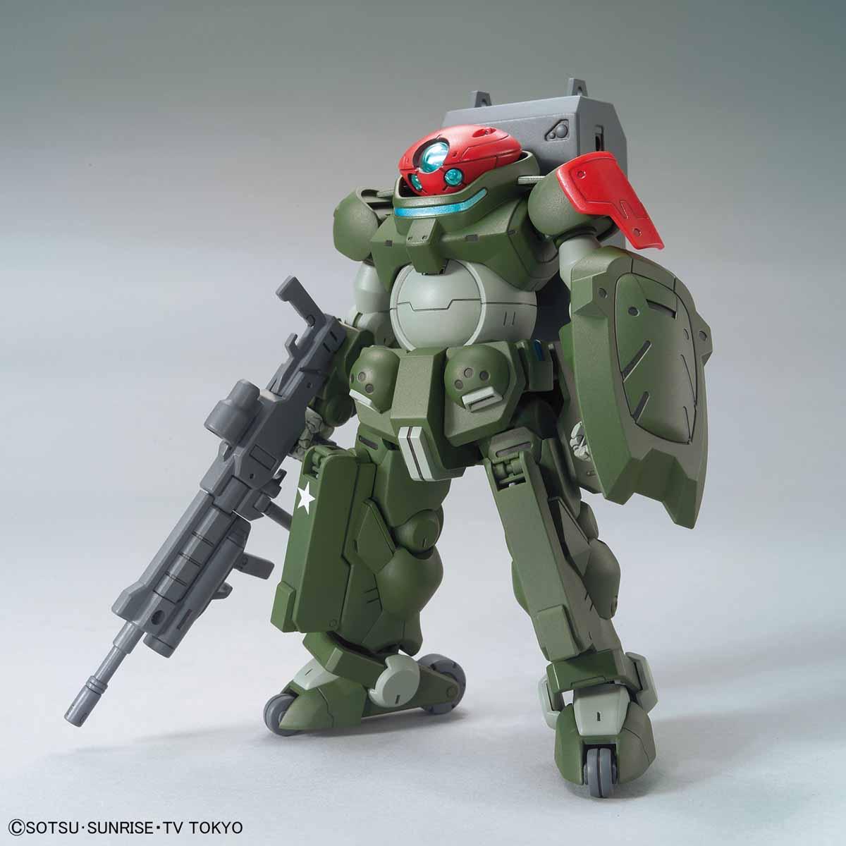 HG Build Divers Grimoire Red Beret