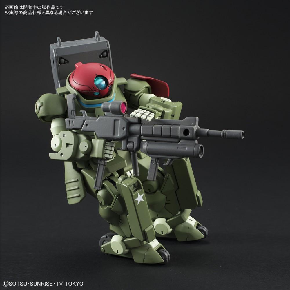 Bandai HG Build Divers Grimoire Red Beret