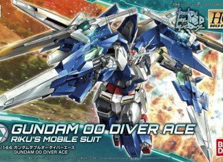 Bandai HGBD Gundam 00 Diver Ace