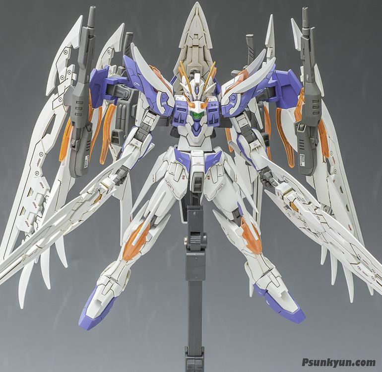 HGBF Wing Gundam Zero Honoo Custom