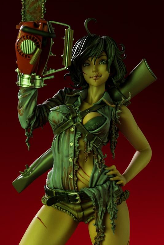 Kotobukiya PVC Figure Horror Bishoujo Ash Williams Evil Dead 2 Dead By Dawn