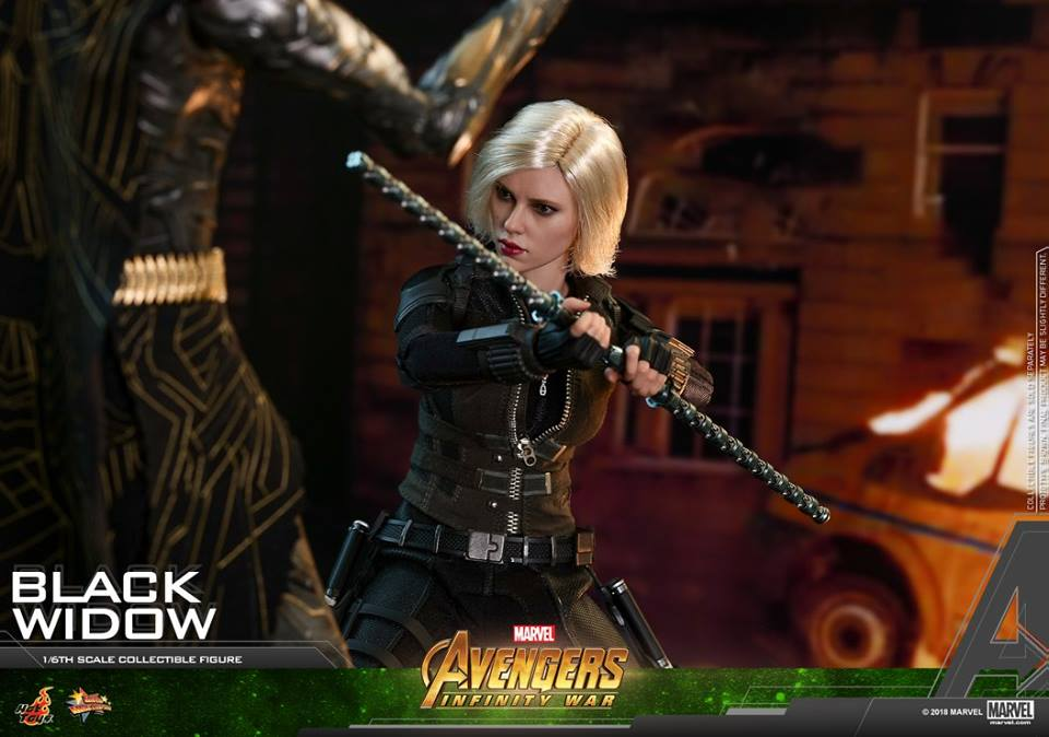 Hot Toys 1/6th scale Avengers 3 Infinity War Black Widow