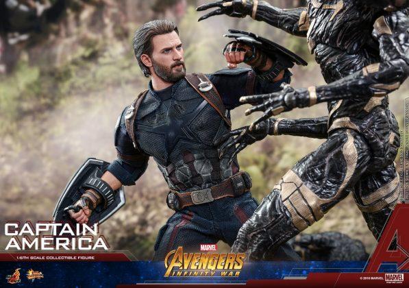 Hot Toys Captain America Avengers Infinity War