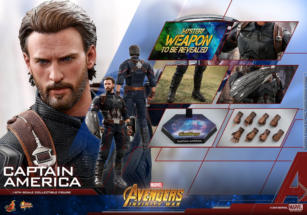 Hot Toys Avengers Infinity War Captain America