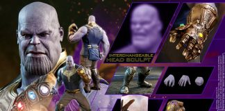 Hot Toys Thanos from Avengers Infinity War movie