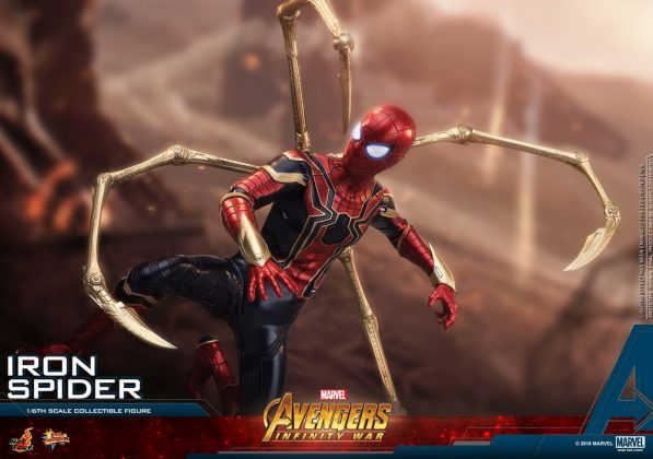 Hot Toys Iron Spider Avengers Infinity War