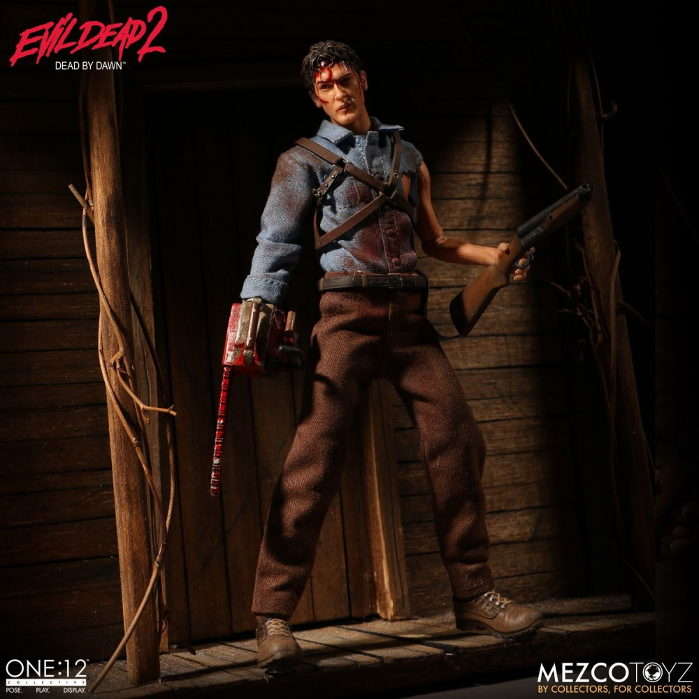 Mezco Toyz One:12 Collective Ash from Evil Dead 2 series