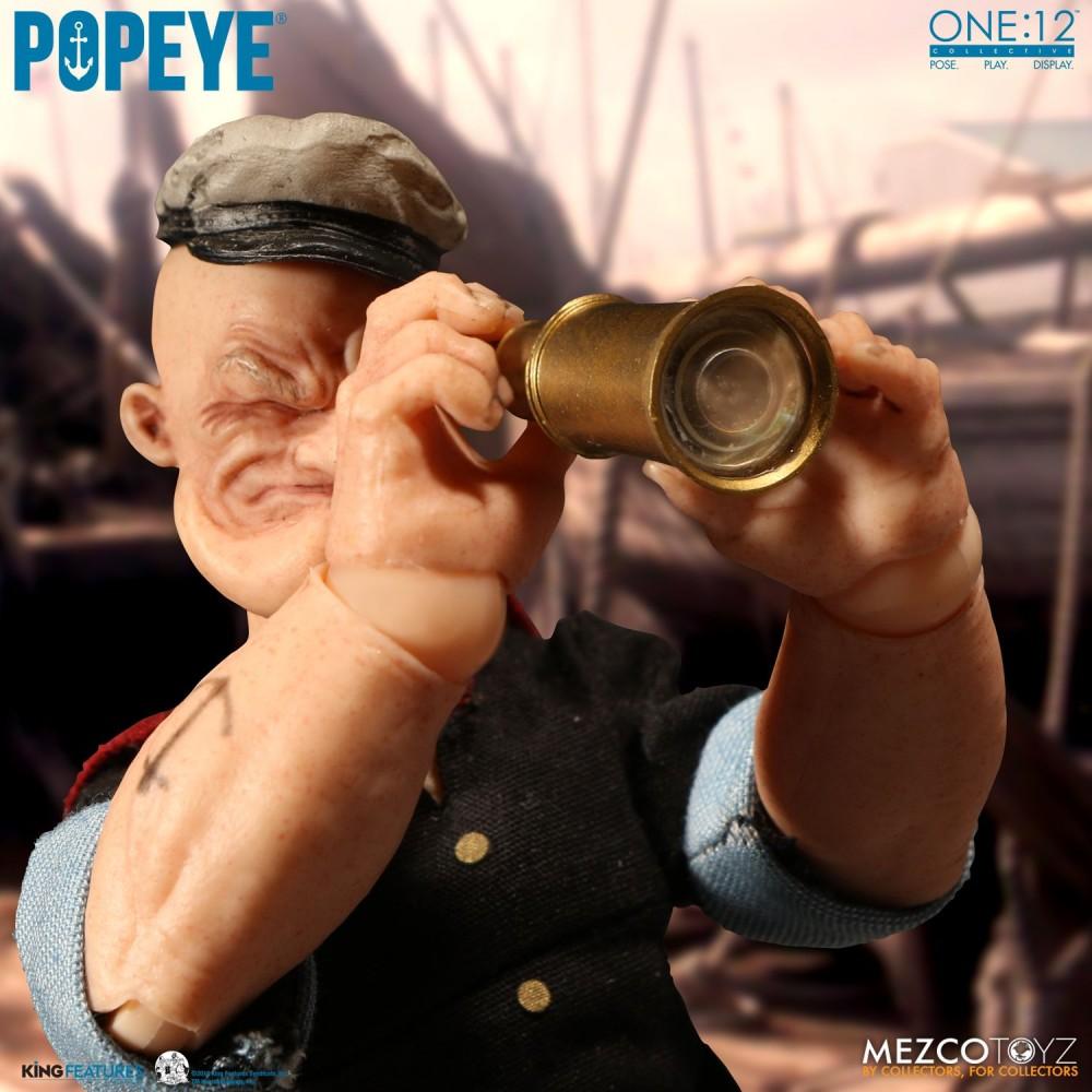 Mezco Toyz One:12 Collective Series Popeye