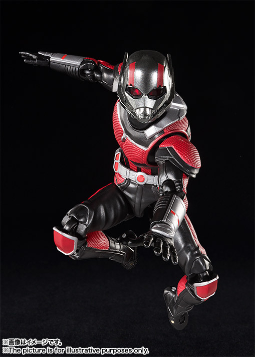 Bandai S.H.Figuarts Ant-Man and the Wasp series Ant-Man