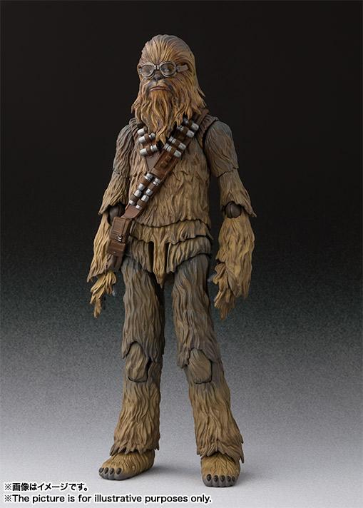 Bandai S.H.Figuarts Chewbacca Solo Series