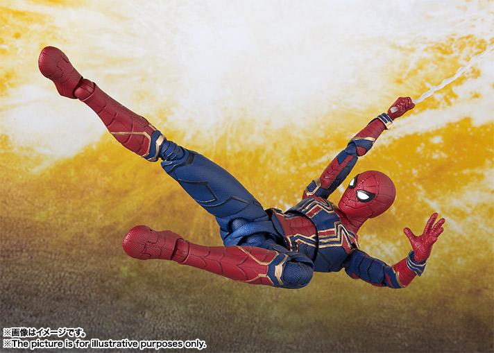 Bandai SHF Avengers: Infinity War Iron Spider