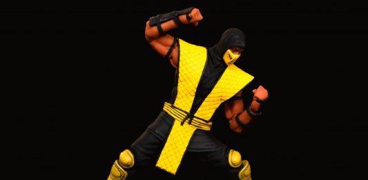 Storm Collectibles Mortal Kombat Series Scorpion fighting pose