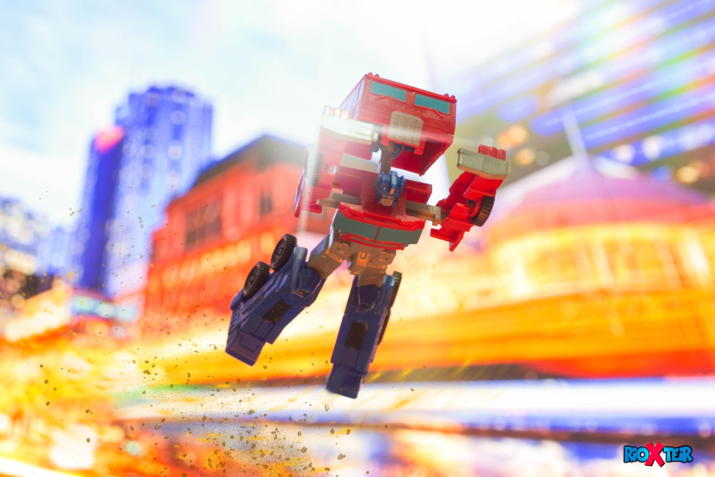Transformers Optimus Prime Change Mode