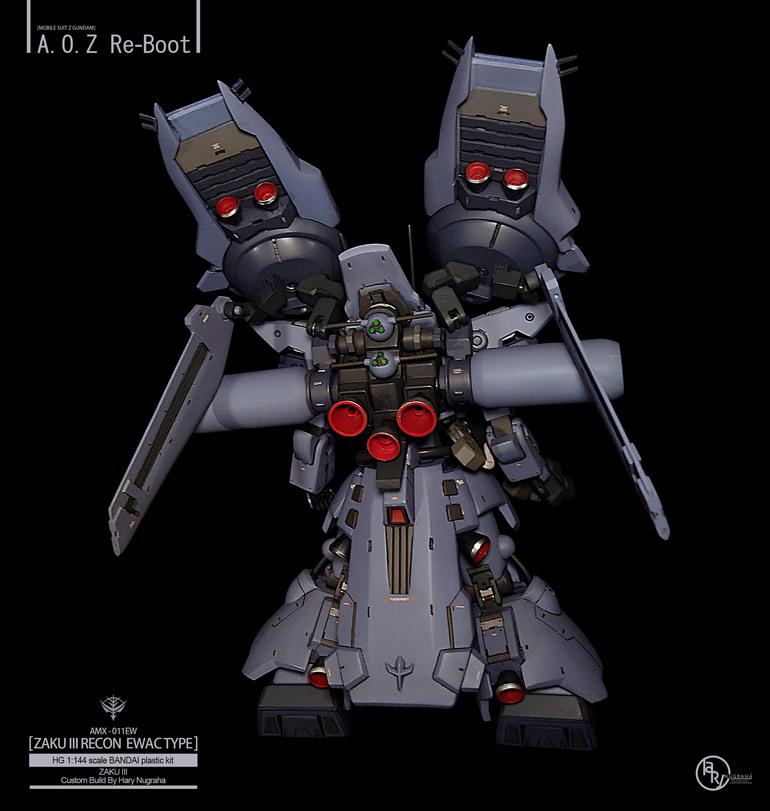 AMX-011EW Zaku III Recon EWAC Type