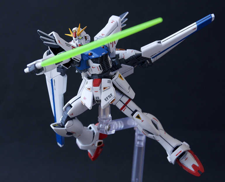 HG Gundam F91 remodeled