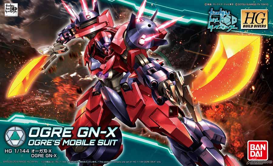 Bandai HGBD Ogre GN-X