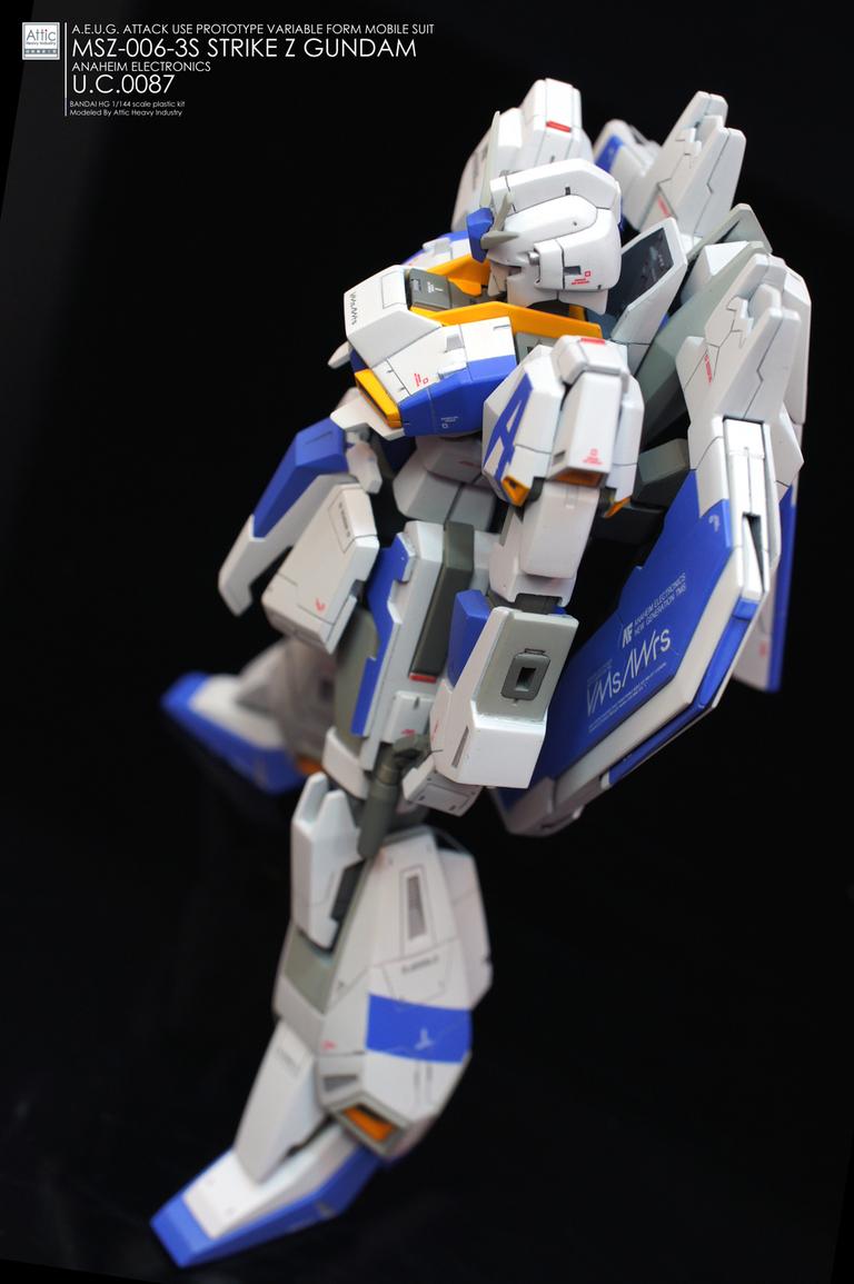 HG Strike Zeta Gundam