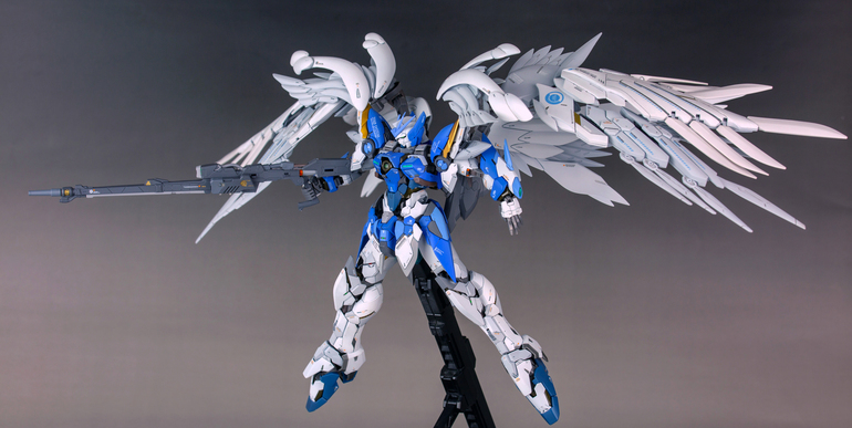 Hi-Resolution Wing Gundam Zero Custom