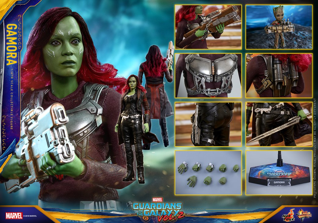 Hot Toys Gamora Guardians of the Galaxy Vol. 2