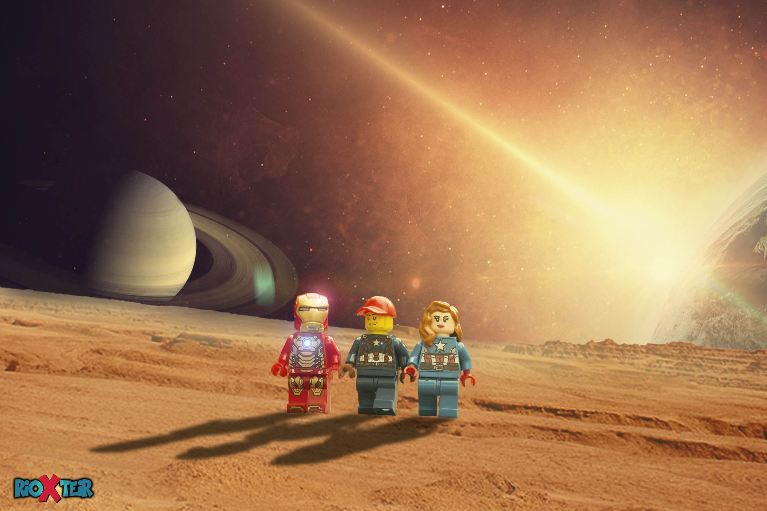 Lego Marvel Avengers in Space