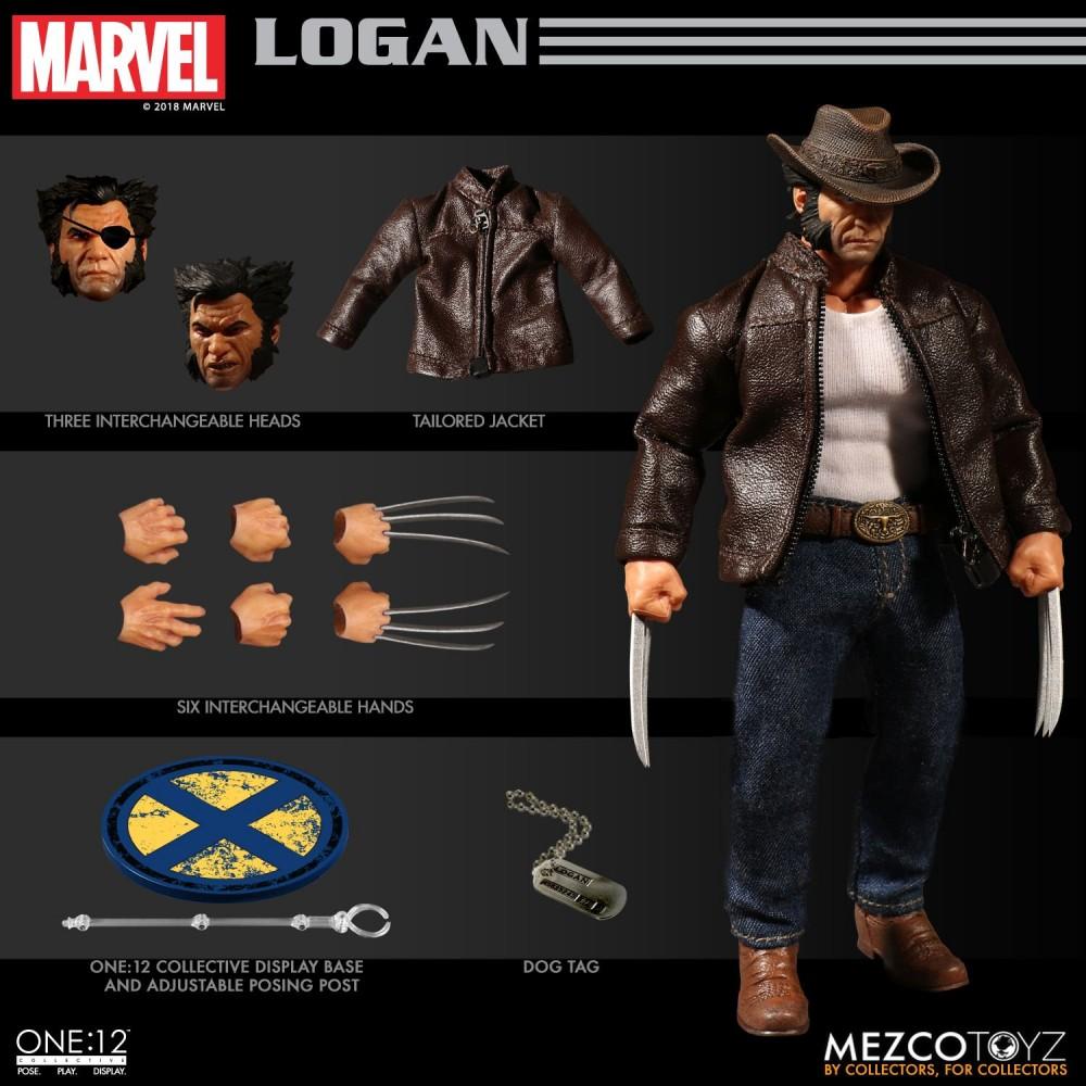 Mezco Toyz One12 Collective Series Logan