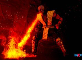 Storm Collectibles Mortal Kombat Scorpion Fire Breath