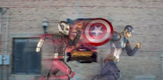 S.H.Figuarts Ant-Man and Captain America