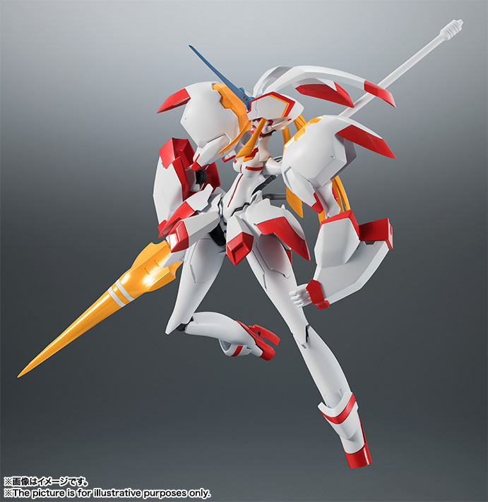 Bandai Robot Damashii Side FRANXX Strelitzia