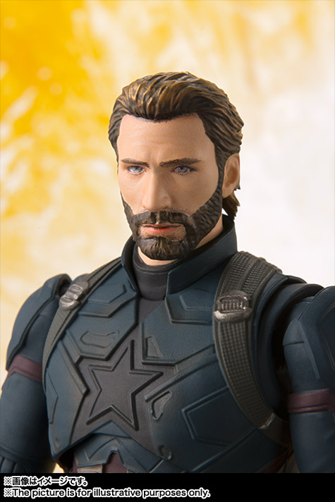Bandai S.H.Figuarts Captain America Avengers: Infinity War