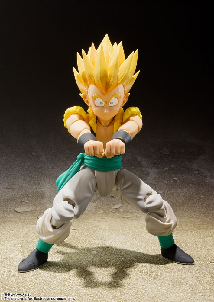 Bandai SHFiguarts Super Saiyan Gotenks Dragon Ball Z