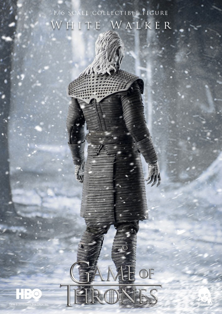 ThreeZero Action Figure White Walker Game Of Thrones