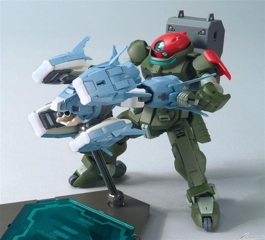 Bandai HG Build Custom Ptolemaios Arms