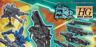 Bandai HG Build Custom Spinning Blaster