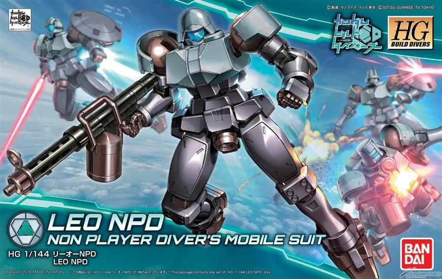 Bandai HG Build Divers Leo NPD