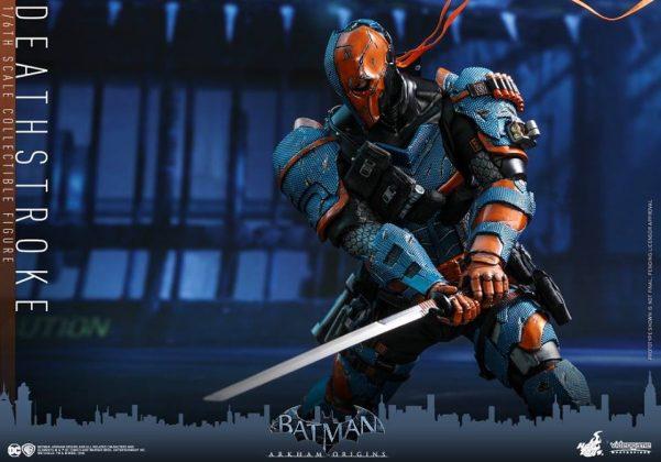 Hot Toys Deathstroke Batman Arkham Origins Game