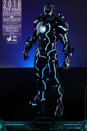 Hot Toys Neon Tech Iron Man Mark IV