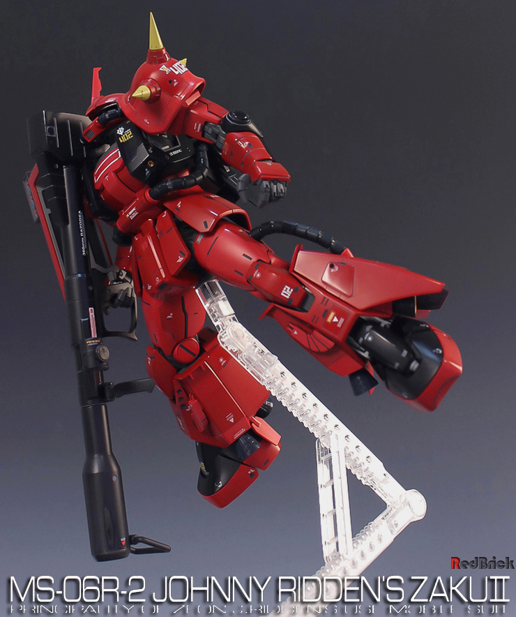 Johnny Ridden High Mobility Type Zaku II Custom