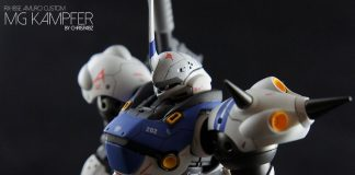 Amuro Custom MG Kampfer