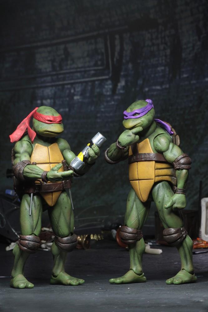 Neca Teenage Mutant Ninja Turtles 1990 Movie Box Set
