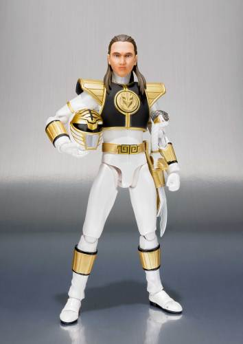 Bandai SHFiguarts White Ranger Mighty Morphin Power Rangers