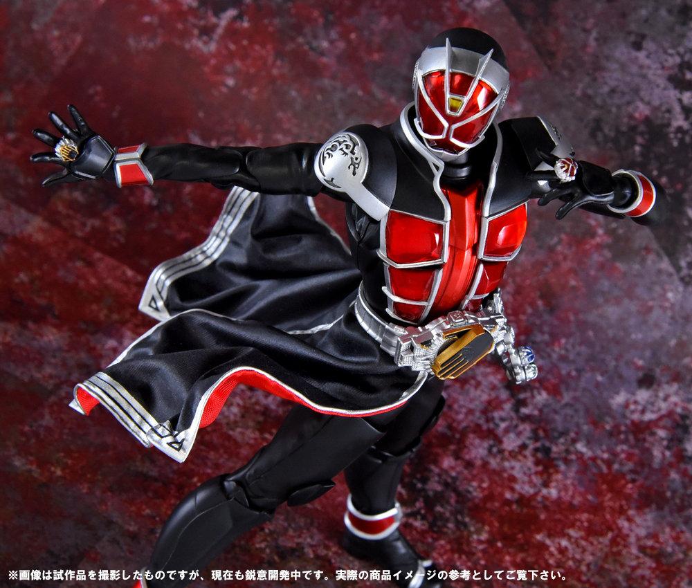 Bandai SHFiguarts Shinkocchou Seihou Kamen Rider Wizard Flame