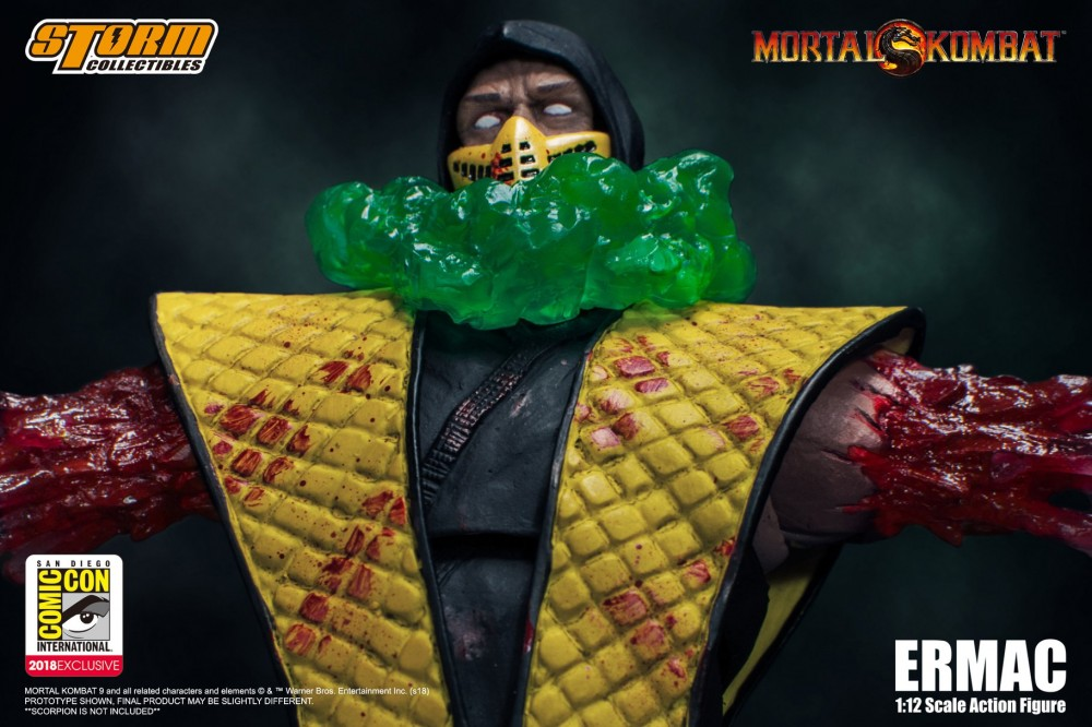 Storm Collectibles Mortal Kombat Ermac SDCC 018