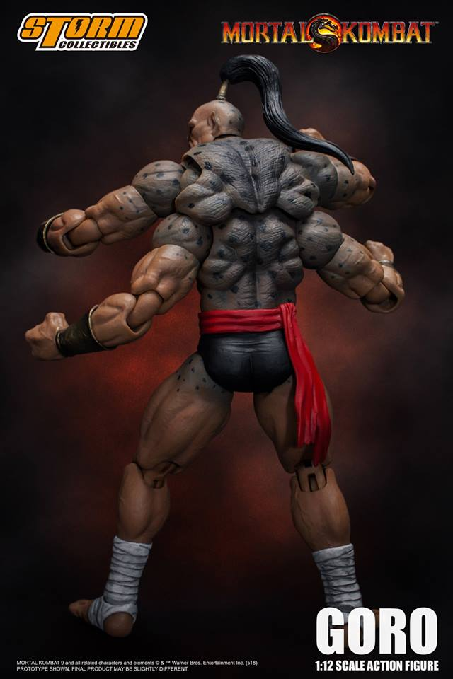 Storm Collectibles Mortal Kombat Goro Action Figure