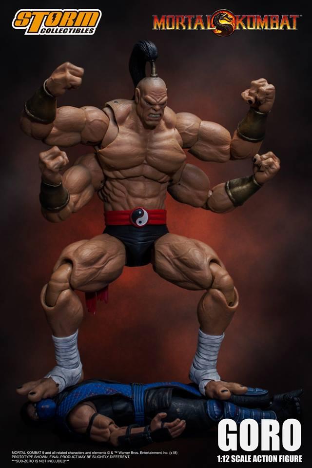 Storm Collectibles Mortal Kombat Goro Action Figure